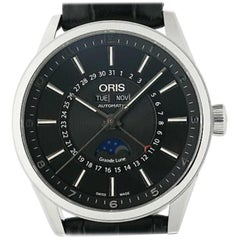 Oris Artix 01 915 7643 4034, Black Dial, Certified and Warranty