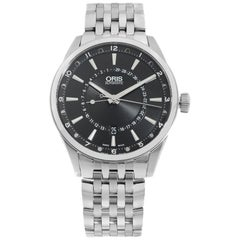Oris Artix Pointer Moon Date Black Dial Men's Watch 01 761 7691 4054-07 8 21 80
