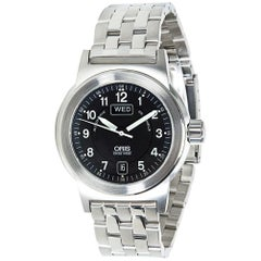 Oris BC3 7500, Black Dial, Certified and Warranty