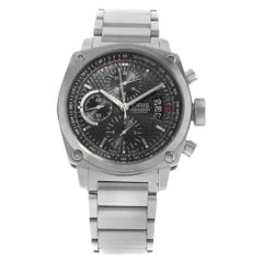 Oris BC4 Chronograph Black Steel Automatic Men Watch 01 674 7616 4154-07 8 22 58