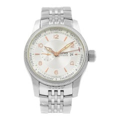 Oris Big Crown Day Date Silver Dial Steel Automatic Men's Watch 645-7629-4061MB
