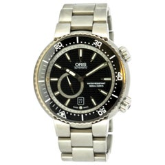 Oris Divers Titan, Titanium Automatic Men's Wristwatch Ref 7638-74