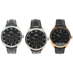 Oris, Louis Armstrong Limited Edition 3 Watches Set from 10 Pieces Worldwide