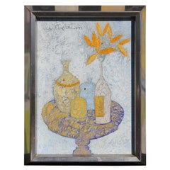 Untitled Abstract Impressionist Still Life Painting