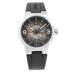 Oris Williams Engine Transparent Steel Automatic Men's Watch 733-7716-4164 RS