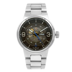Oris Williams Engine Transparent Steel Automatic Men's Watch 733-7716-4164 SS