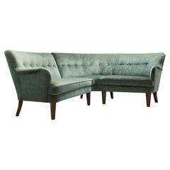 Orla Mølgaard-Nielsen Corner Sofa for Fritz Hansen, Denmark, 1940s