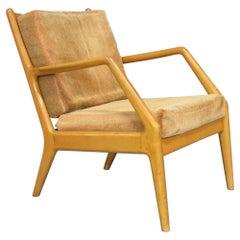 Orla Molgaard Nielsen for France & Daverkosen Beech Lounge Chair, Denmark