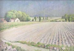 Orlando Greenwood, French impressionist landscape
