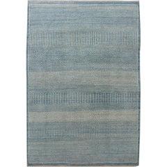 "Orley Shabahang Signature Collection ""Rain, No.1"" Handmade, Contemporary Carpet"