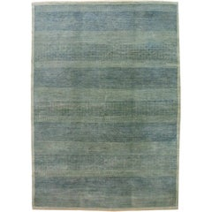 "Orley Shabahang Signature Collection ""Rain, No.2"" Handmade, Contemporary Carpet"
