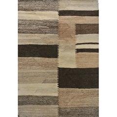 "Orley Shabahang Signature Collection ""Salt Pans"" Handmade, Contemporary Carpet"