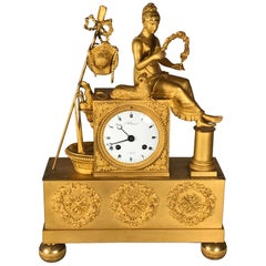 Ormolu Mantel Clock, Belgium, circa 1810-1820