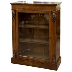 Ormolu Mounted and Tonbridgeware Inlaid Pier Cabinet, circa 1870