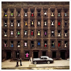 Girls in the Windows, Contemporary Fashion Photography, Edition of 75