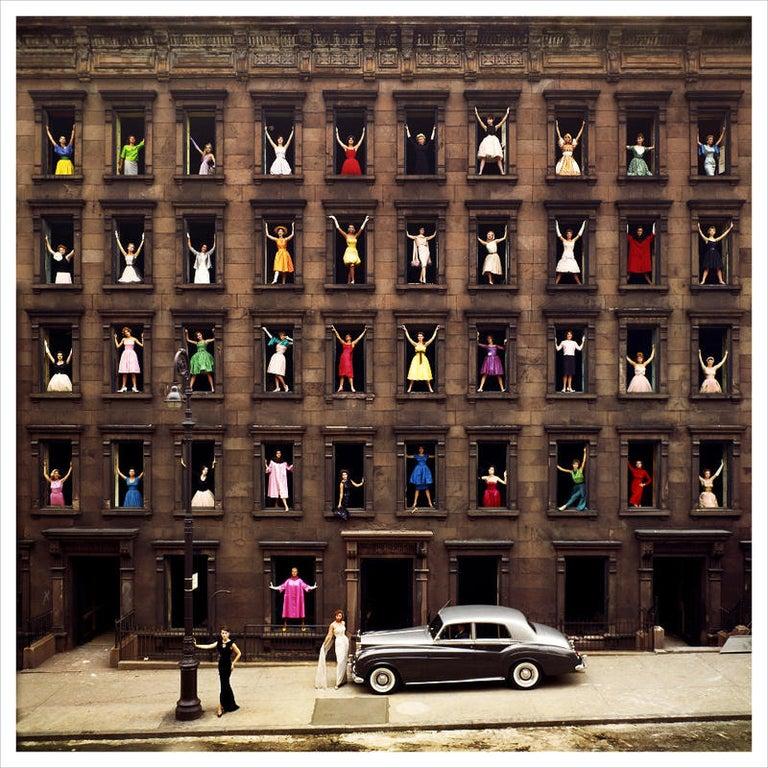 Ormond Gigli Figurative Photograph - Girls in the Windows