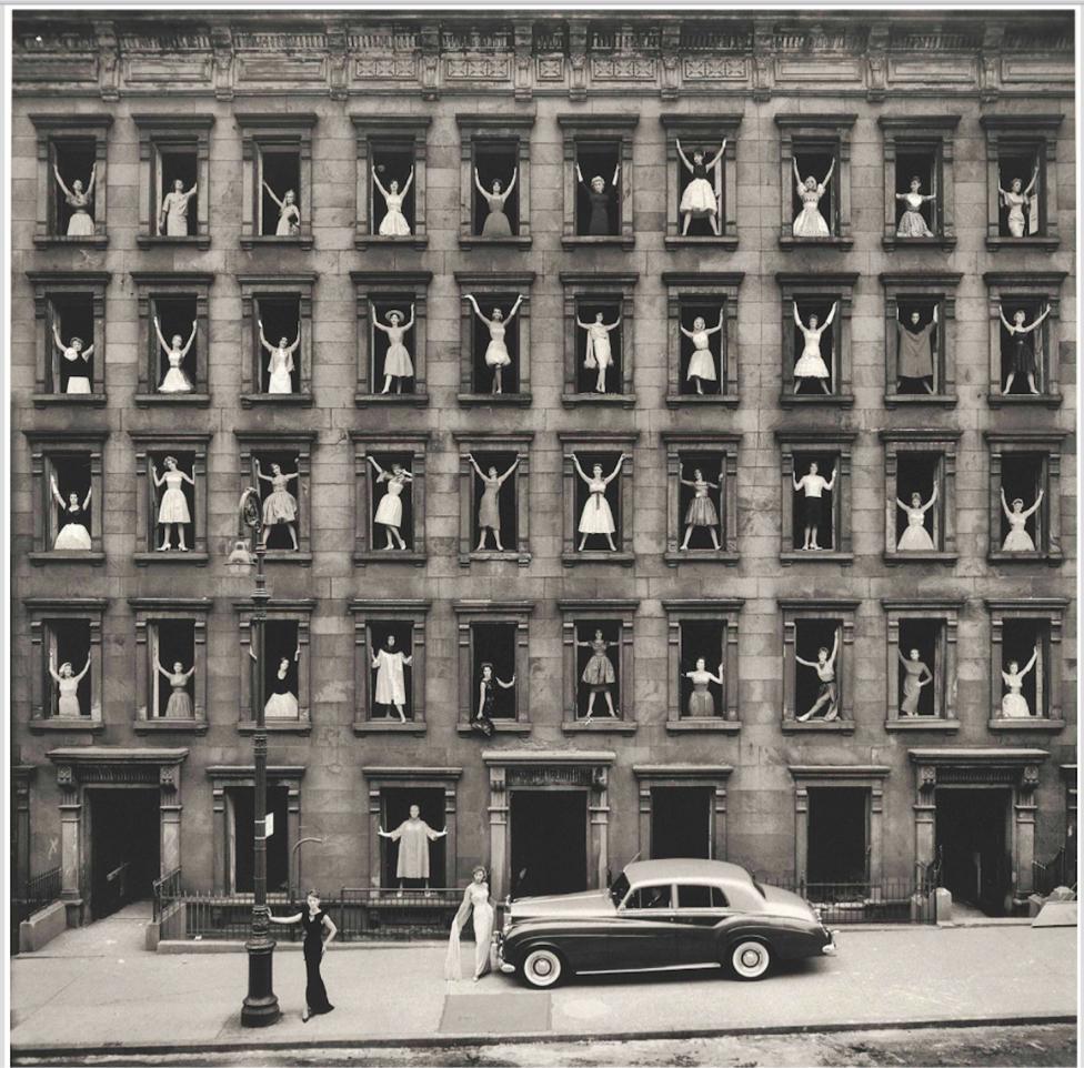 New York City (Girls in Windows) 1961
