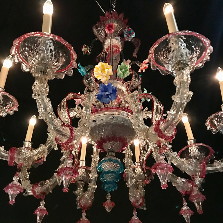 Cast Ornamental Chandelier For Sale