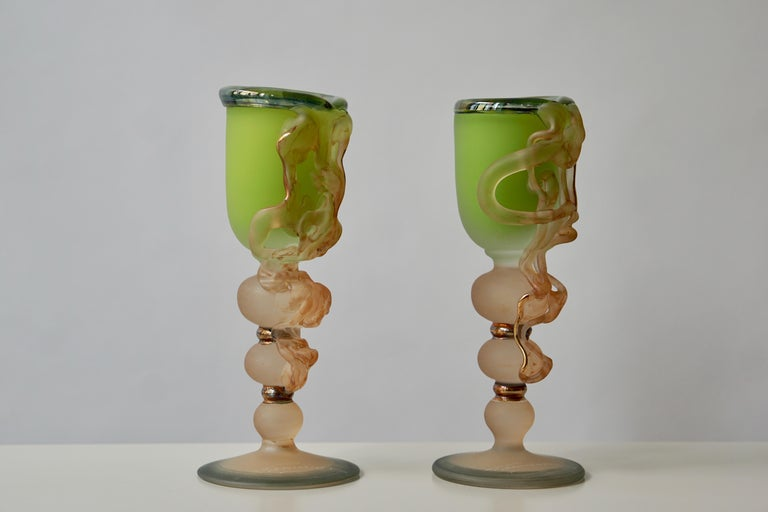 Ornamental Glasses by Tamaian For Sale 4