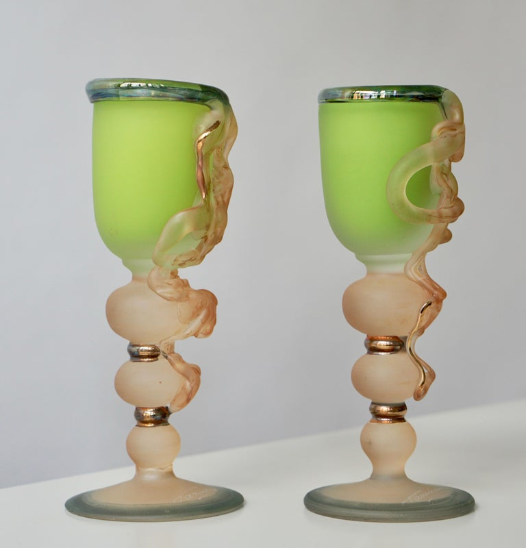 Ornamental Glasses by Tamaian For Sale 5