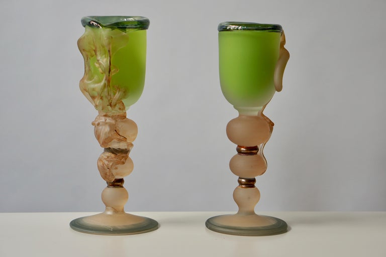Ornamental Glasses by Tamaian In Good Condition For Sale In Antwerp, BE