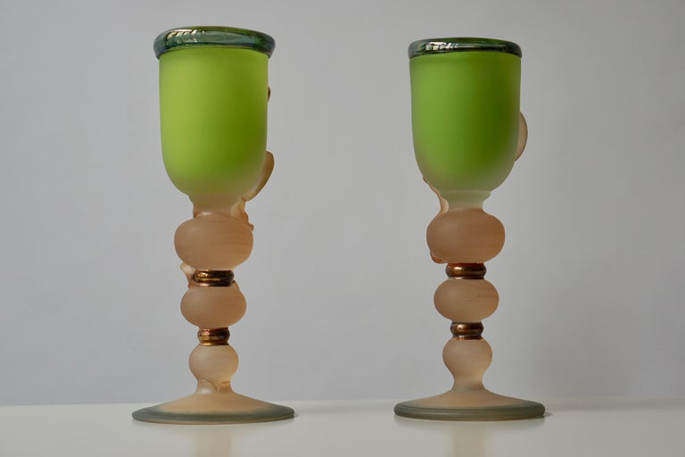 Ornamental Glasses by Tamaian For Sale 1