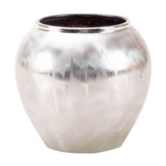 Ornamental Metal Ikora Vase by WMF, Early 20th Century