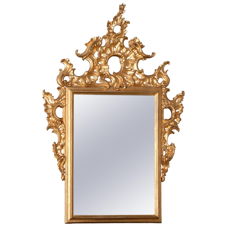 Ornamental Mirror, 19th Century