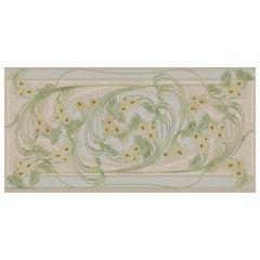 Ornami Art Nouveau Spring Vinyl Wallpaper Made in Italy Digital Printing