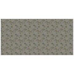 Ornami Romantic Flowers Pattern Vinyl Wallpaper Made in Italy Digital Printing