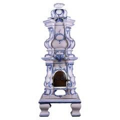 Ornate Ceramic Kachelofen Stove