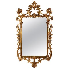Ornate Italian Gilt Mirror