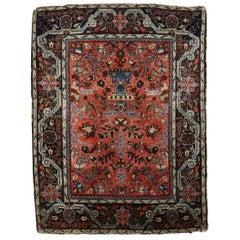 Ornate Jozan Persian Sarouk Rug