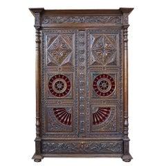 Ornate Low Country Armoire