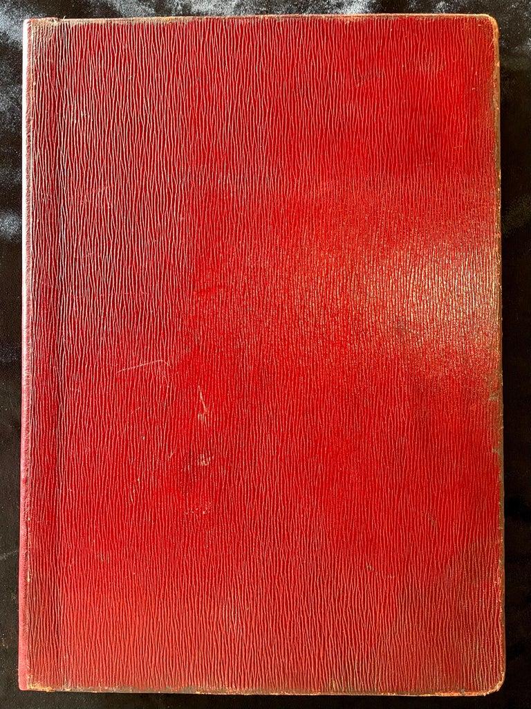 Ornate Sterling Silver Book Cover Photo Scrap Album w Red Leather Interior For Sale 9