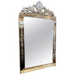 Ornate Venetian Mirror, circa 1920s-1940s, France