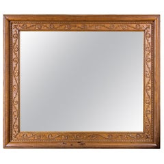 Ornate Victorian Back Bar Mirror