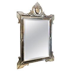 Ornate Vintage Venetian Mirror, circa 1920s-1930s, France
