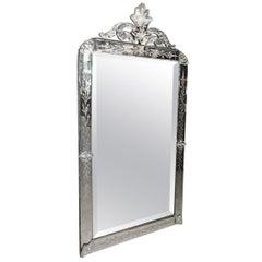 Ornate Vintage Venetian Mirror, circa 1920s-1940s, France