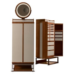 Oro Cabinet with Mirror by Giorgetti