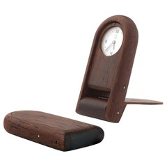 Orologetto Wooden Pocket Watch by Bottega Ghianda