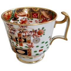 Orphaned Porcelain Coffee Cup, Spode, Imari Tobacco Leaf Pattern 967, Regency