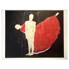 """""""Orpheus"""" Archival Print on Textured Watercolor Paper, Limited Edition, Dancer"""