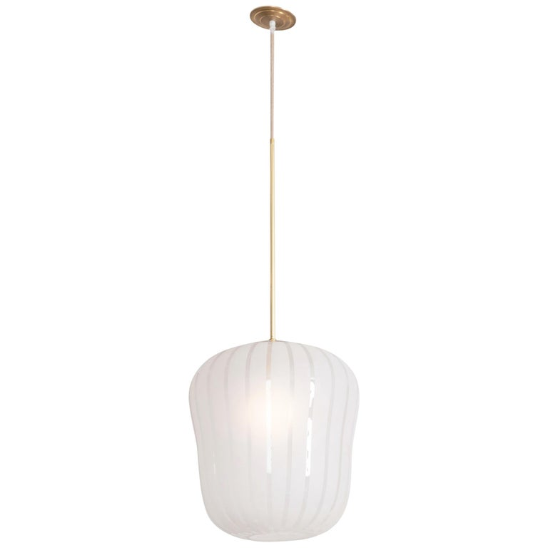 Orrefors Ceiling Fixture by Gunnel Nyman For Sale
