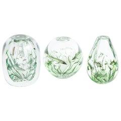 Orrefors Fish Graal Vases