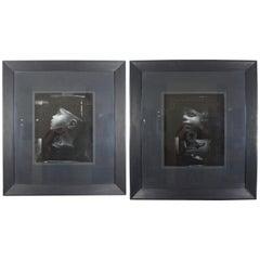 Orshi Drasdik Piameter Dystopia 1986 Black and White Photographs Head in a Jar