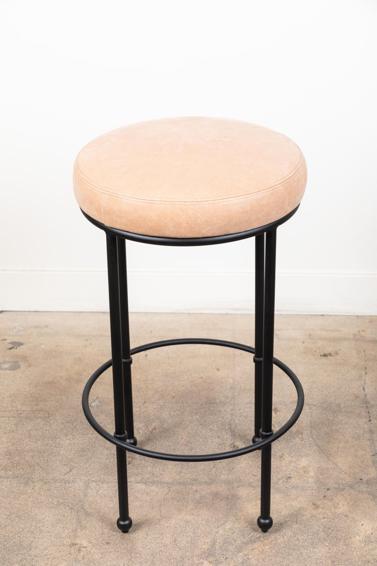 Orsini Barstool by Lawson-Fenning In Excellent Condition For Sale In Los Angeles, CA