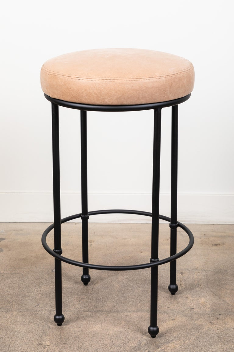 Contemporary Orsini Barstool by Lawson-Fenning For Sale