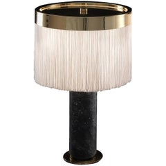Orsola Black Table Lamp by Bozzoli