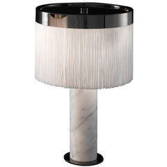 Orsola White Table Lamp by Bozzoli